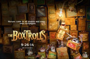 Boxtrolls promotional poster
